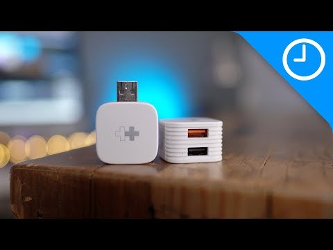 HyperCube: Auto Photo Backup + USB Port for iPhone & Android Smartphones-GadgetAny