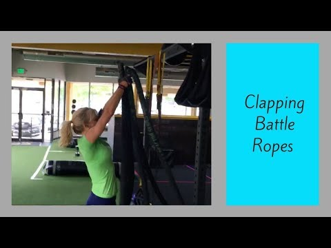 Clapping Battle Ropes