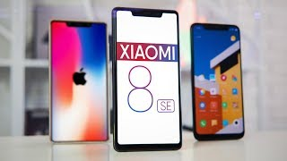 Обзор Xiaomi Mi 8 SE - iPhone SE 2 от Китайцев и Сравнение с Mi 8!