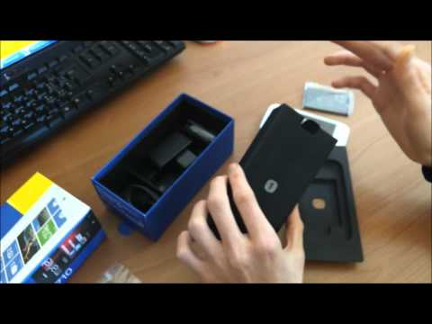 Nokia Lumia 710 Unboxing