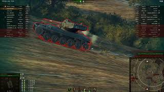 ЛТ-15 и лучший бой по опыту на Т-100ЛТ. Редшир