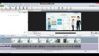 Программа для монтажа виде Video Pad Video Editor, очень простая  и бесплатная .......