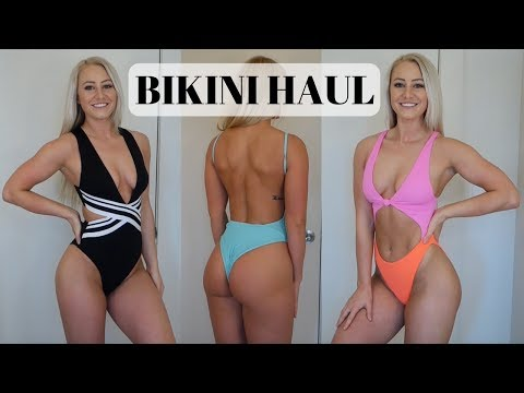 Bikini & One-Piece Swimsuit Try-On Haul & Review | Zaful, H&M, Topshop, Nordstrom, Amazon