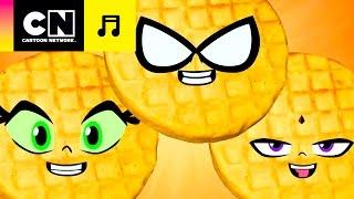 Waffles! | Os Jovens Titãs em Ação | CN Tunes | Cartoon Network