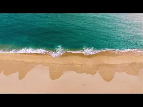 som de ONDA DA PRAIA   msica relaxante e suave som das ondas do mar   praia paradisaca hd
