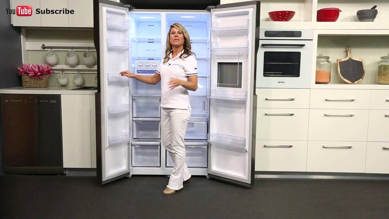 Top Ten Side By Side Refrigerators Samsung Srs603hls 603l Side By Side Fridge Appliances Online