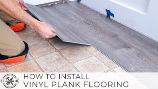 How To Install Vinyl Plank Flooring As A Beginner | Home Renovation