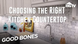 Kitchen Countertop Options - Good Bones - HGTV