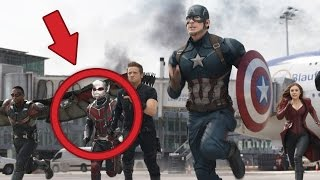 10 Coolest Captain America: Civil War Easter Eggs, References And Trivia