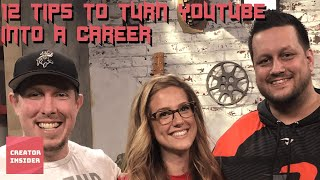 12 TIPS to Turn Your YouTube Hobby Into a Career (Feat. Powerbang & CWA)