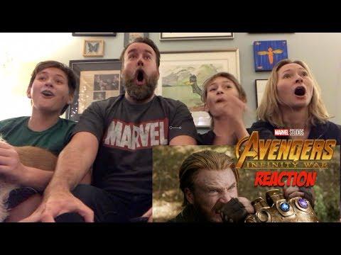 Marvel Studios' Avengers: Infinity War - Official Trailer 2 - REACTION (видео)
