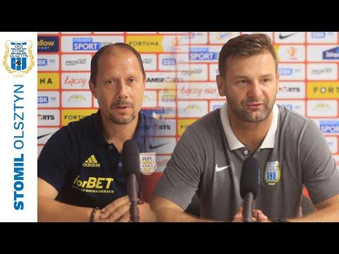Trenerzy po meczu Stomil Olsztyn - Arka Gdynia 0:1