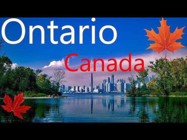 Video Pronunciation of Ontario in English