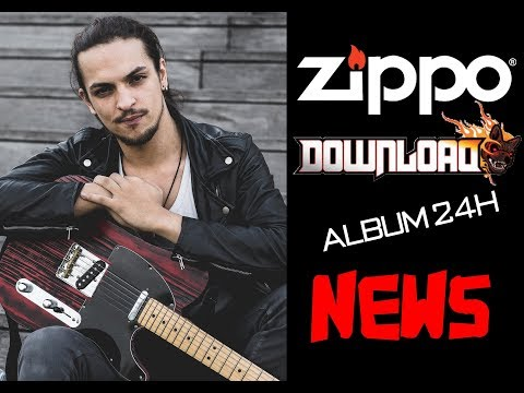 Download Fest, Jeu Zippo, Album Live 24H et Long Tight Road.