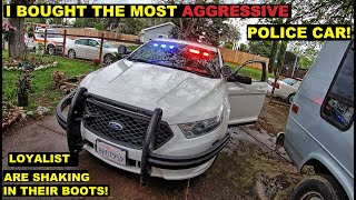 I bought The Most Aggressive looking Cop Car Ever! Ford Taurus Police Interceptor