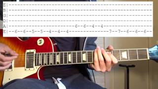 Steve Lacy   Dark Red Guitar Lesson