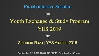 How to Apply for Youth Exchange and Study Program 2019?