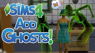 The Sims 4 How to Add a Ghost to a Household