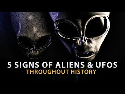 5 Disturbing SIGNS OF ALIENS & UFOS Throughout History