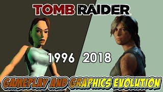 Evolution of Tomb Raider 1996-2018 Gameplay Compilation