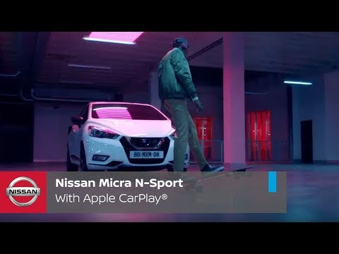 Nissan Micra N-Sport: With Apple CarPlay