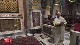 """Popiežiaus malda, """"kad baigtųsi viruso pandemija"""""""