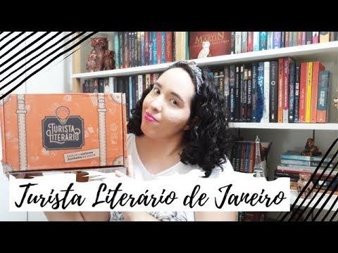Unboxing Turista Literário de Janeiro (2019) | Um Livro e Só