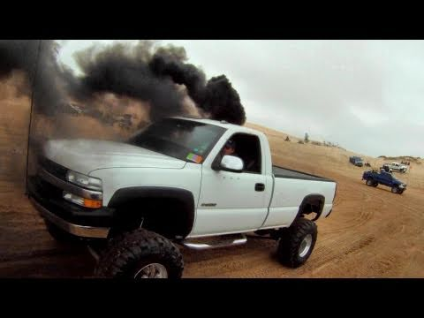 Diesel Sand Drags BIG Trucks Rule