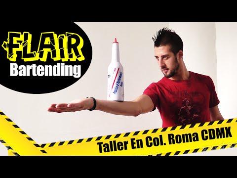 Tips Flair Bartending - Taller de Working Flair CDMX