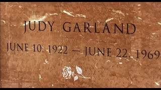 FAMOUS GRAVE TOUR: Visiting Judy Garland's Crypt At Hollywood Forever Cemetery, CA
