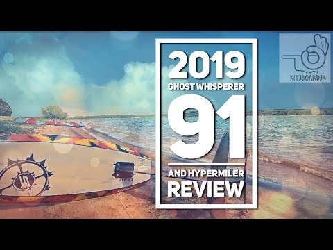 Kiteboarding -Slingshot GW 91 Kite Foil/Hypermiler Kiteboard Review 2019- This Thing Is Nuggets!!