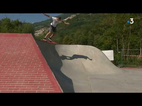 Un skate park participatif parrainé par Opinel