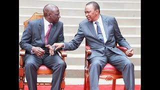 President Uhuru and DP Ruto hold crisis talks as Jubilee-split begins