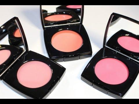 Cream blush Review - Chanel, MAC, Stila | AmyMirandaMakeup.com