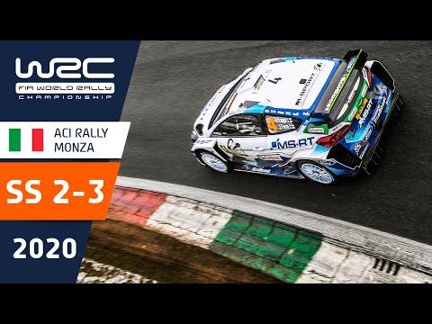 WRC第7戦ラリー・モンツァ SS2-3のハイライト動画