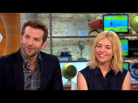 Bradley Cooper and Sienna Miller talk new movie
