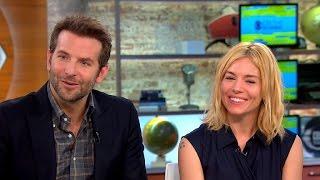 "Bradley Cooper and Sienna Miller talk new movie ""Burnt,"" Hollywood pay gap"
