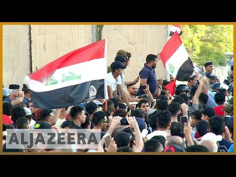 🇮🇶 Anger mounts in Iraq as protests spread to the capital Baghdad | Al Jazeera English