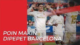Gagal Raih Poin Penuh, Poin Real Madrid Makin Dipepet Barcelona