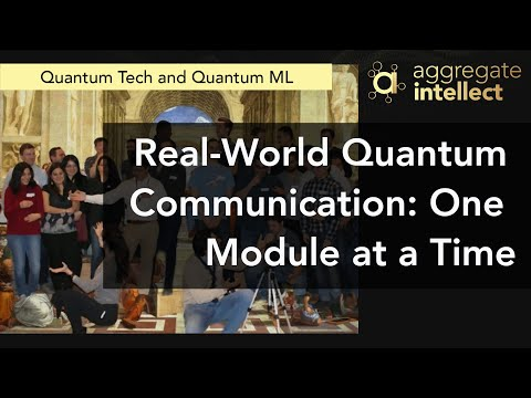 Real-World Quantum Communication: One Module at a Time