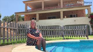 Video Rural Villa on Mallorca La Rota de Morell