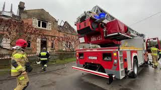 Wideo: Pożar domu w Kłobuczynie