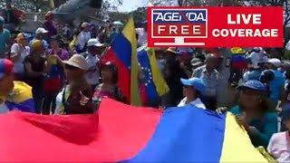 Venezuela Protests – LIVE COVERAGE