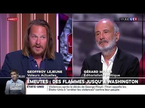 """Pour Geoffroy Lejeune, la """"gauche, les médias et les antifas"""" racialisent la société et l'éclatent en communautarismes"""