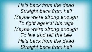 Dream Evil - Back From The Dead Lyrics