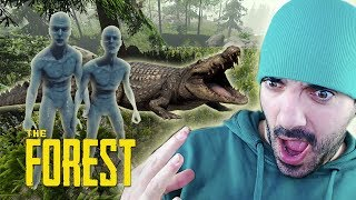 CANÍBALES Y COCODRILOS ⭐️ The Forest #3 | iTownGamePlay