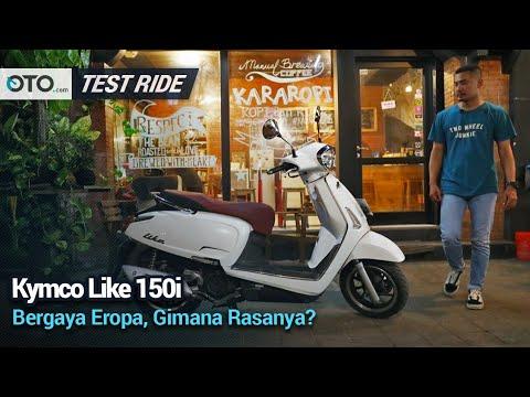 Kymco Like 150i | Test Ride | Gaya Eropa Tapi Punya Fitur Lebih | OTO.com