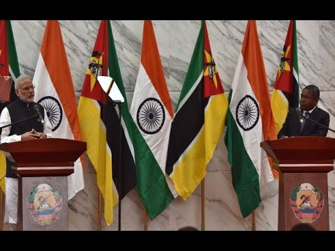 PM Modi's speech at the Joint Press Statements in Maputo, Mozambique
