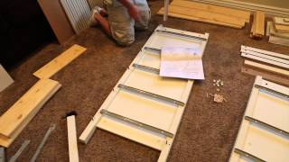 How to Build an IKEA Dresser in 2 Minutes!