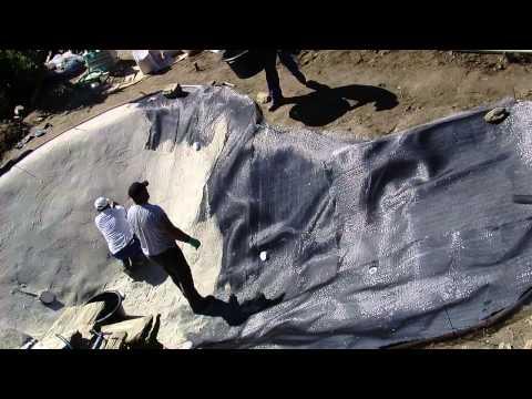 Como se construye una piscina de arena sin cemento en 7 for Como se hace una piscina de cemento